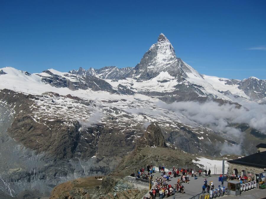 ゴルナーグラードよりのマッターホルン(スイス)