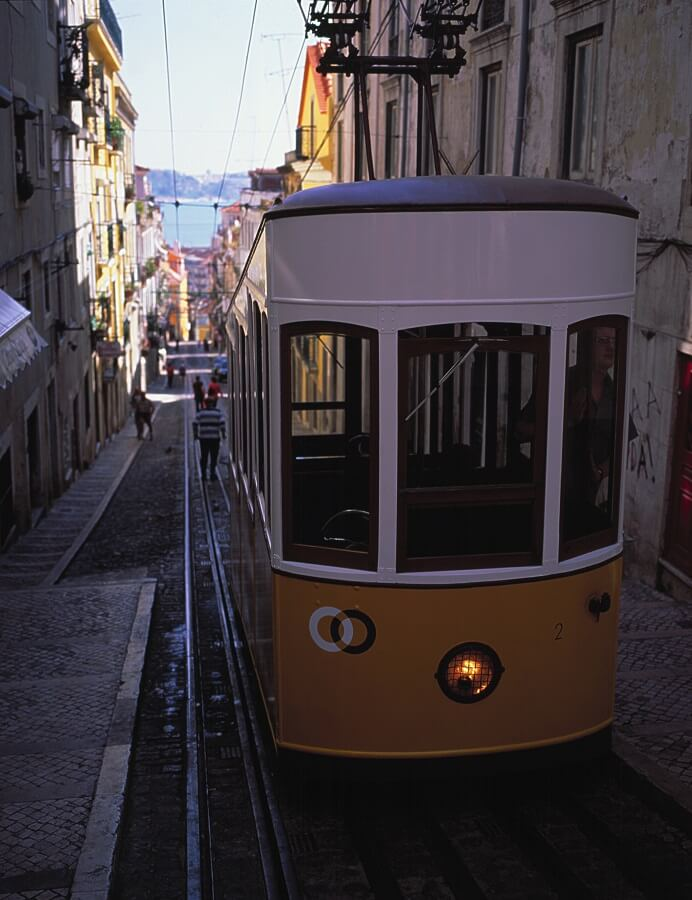 リスボン旧市街(ポルトガル)
