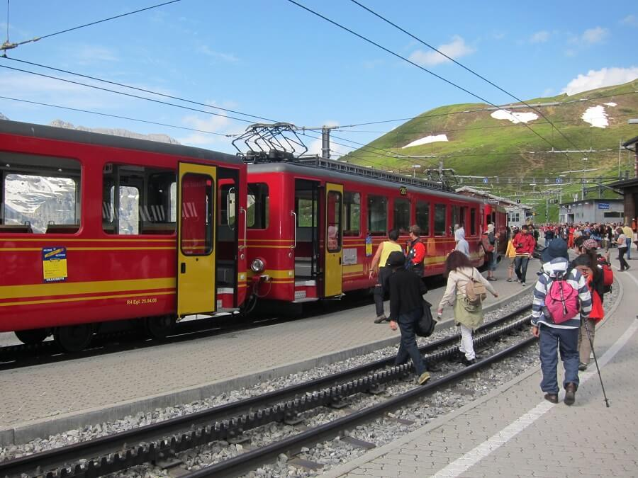 登山列車(スイス)