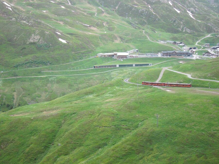 スイス(登山列車)