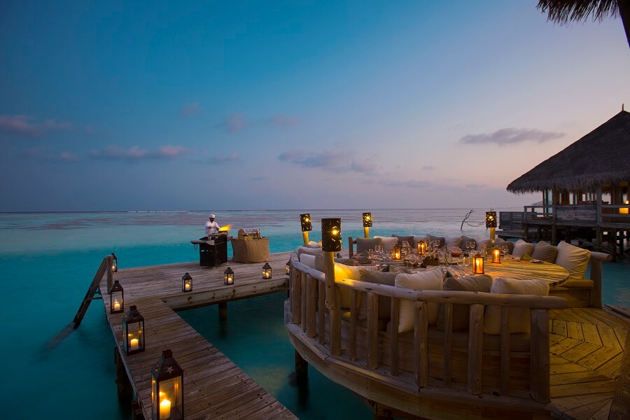 Gili Lankanfushi(オーバー・ウオター・バー)