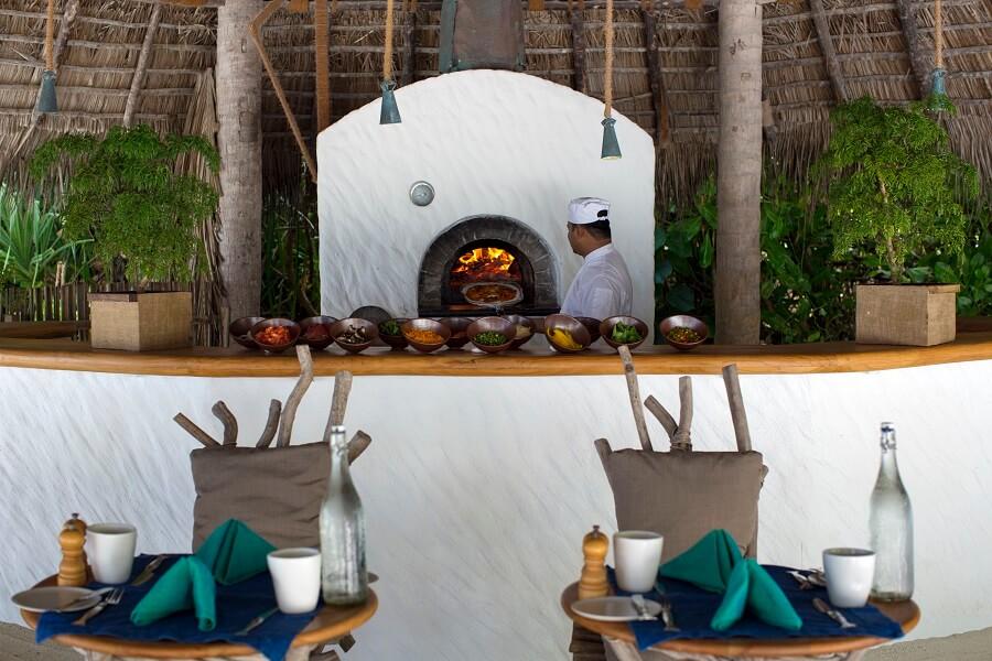 Gili Lankanfushi(メインレストラン)