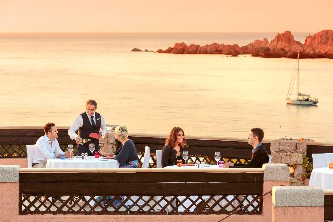 Hotel Marinedda Thalasso & Spa レストラン