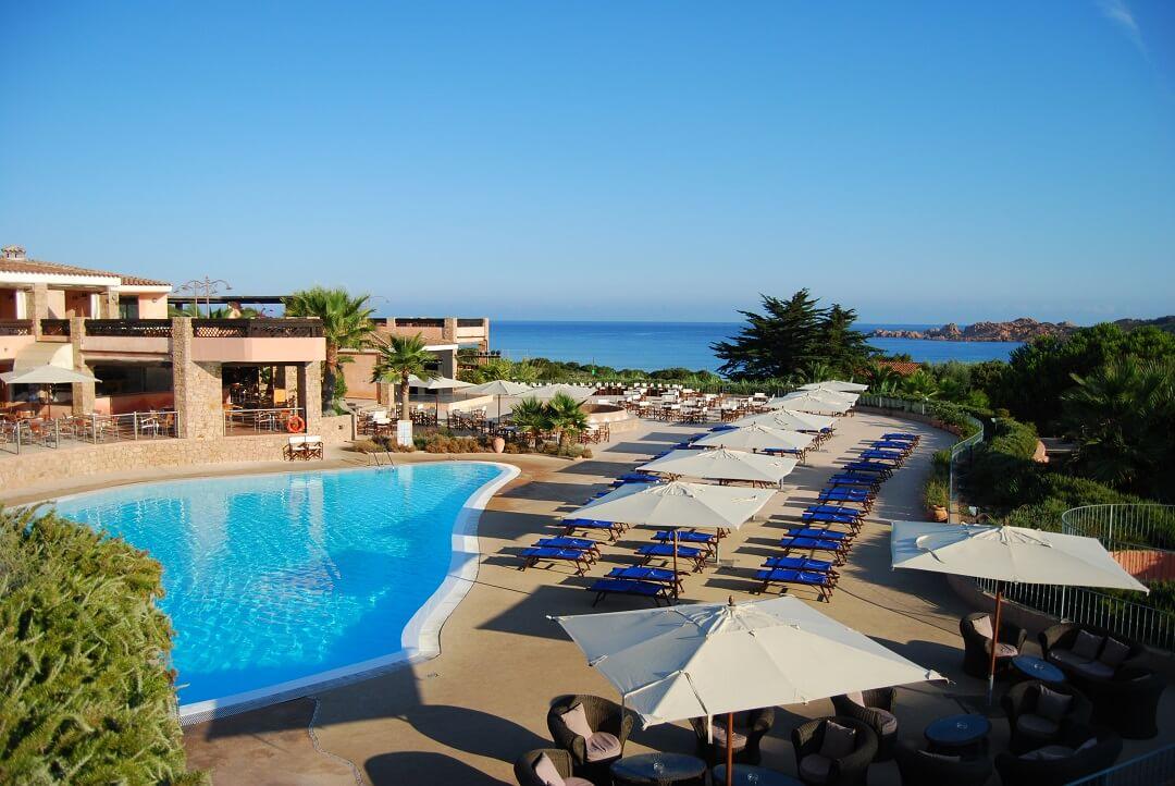 Hotel Marinedda Thalasso & Spa プール