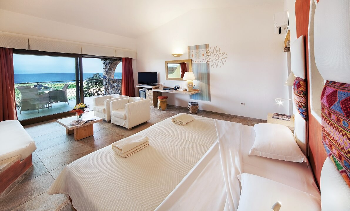 VALLE_DELL'ERICA Hotel La Licciola エリカスイートシービュー