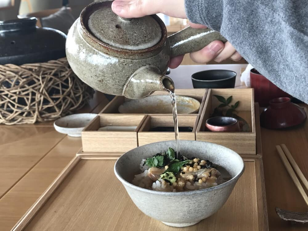 アマネム 和朝食(鯛茶)