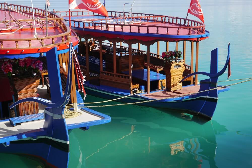 レジデンス モルディブ ダイビングボート