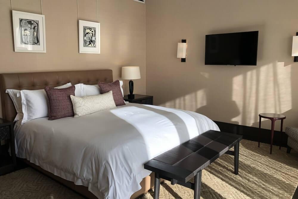 ディレア グラフ ロッジ&スパ ベッドルーム