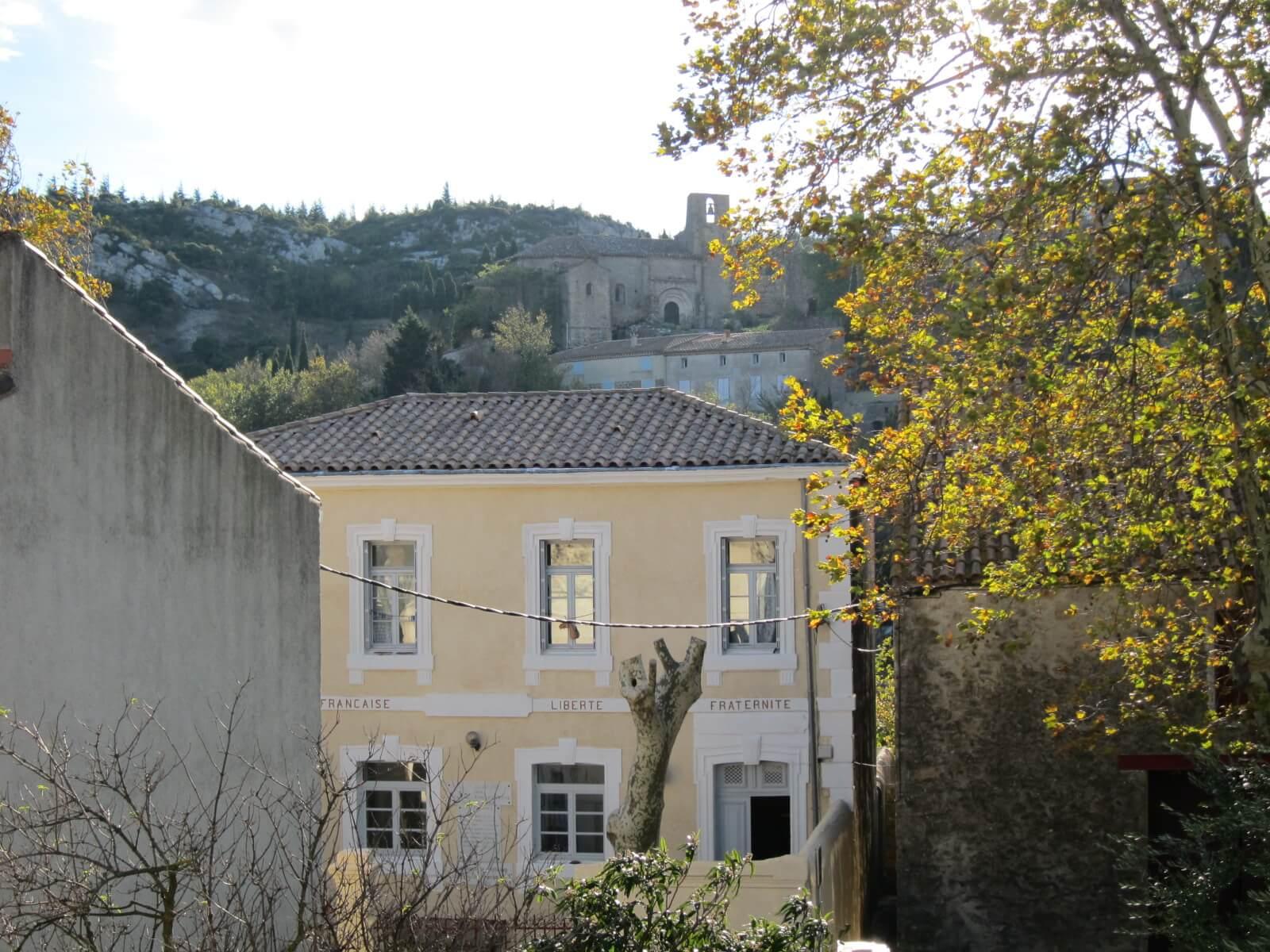 オーベルジュ デュ ヴユー ピュイ 町の風景