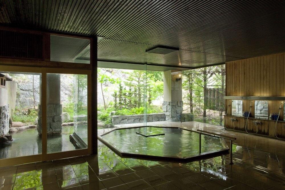 明神館 大浴場