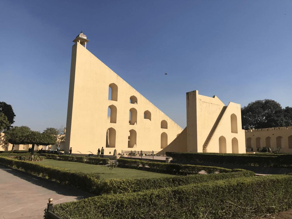 インド旅行 10ジャイプール(ジャンタル・マンタル天文台)