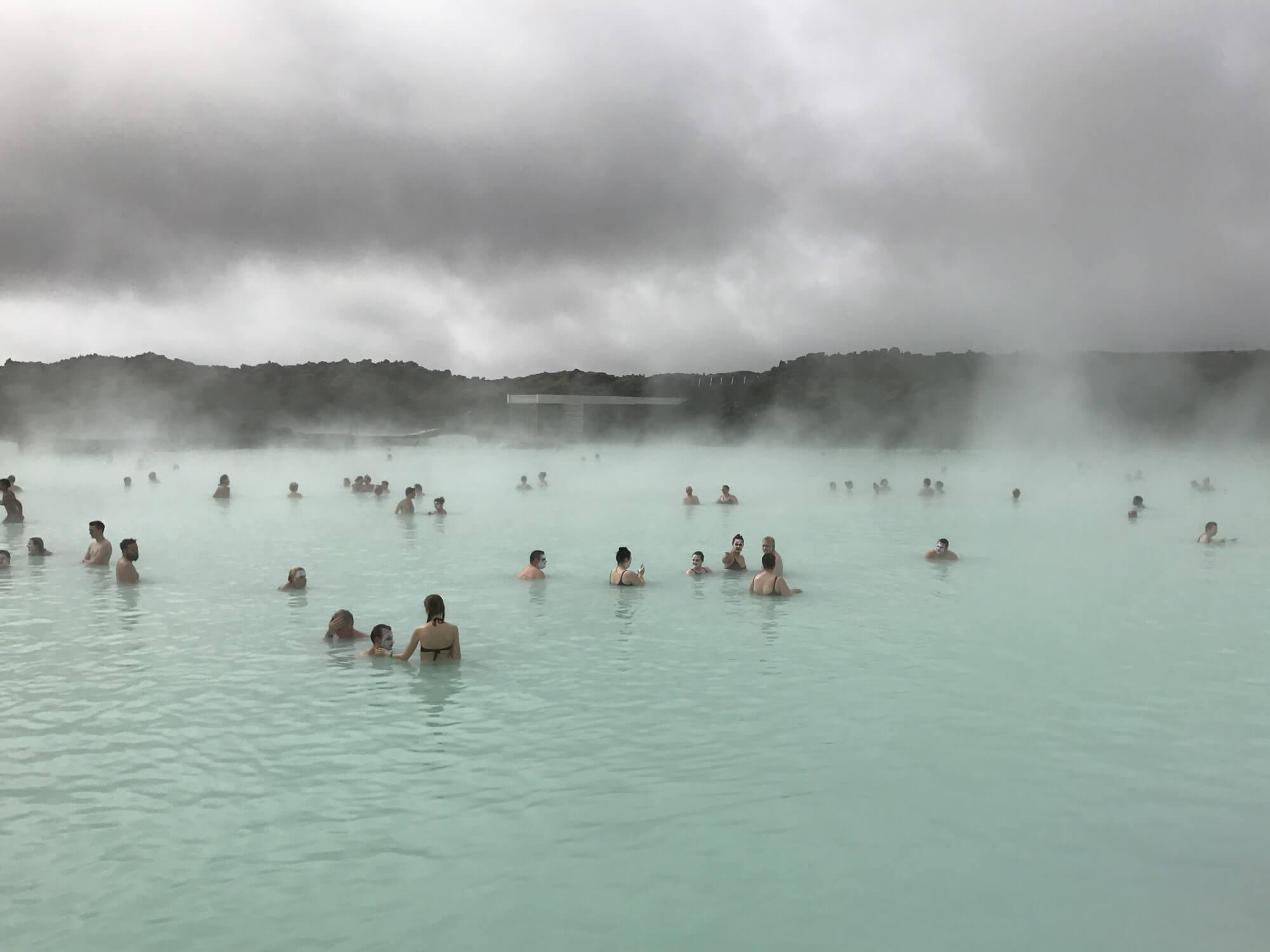 アイスランド レポート ブルーラグーン2