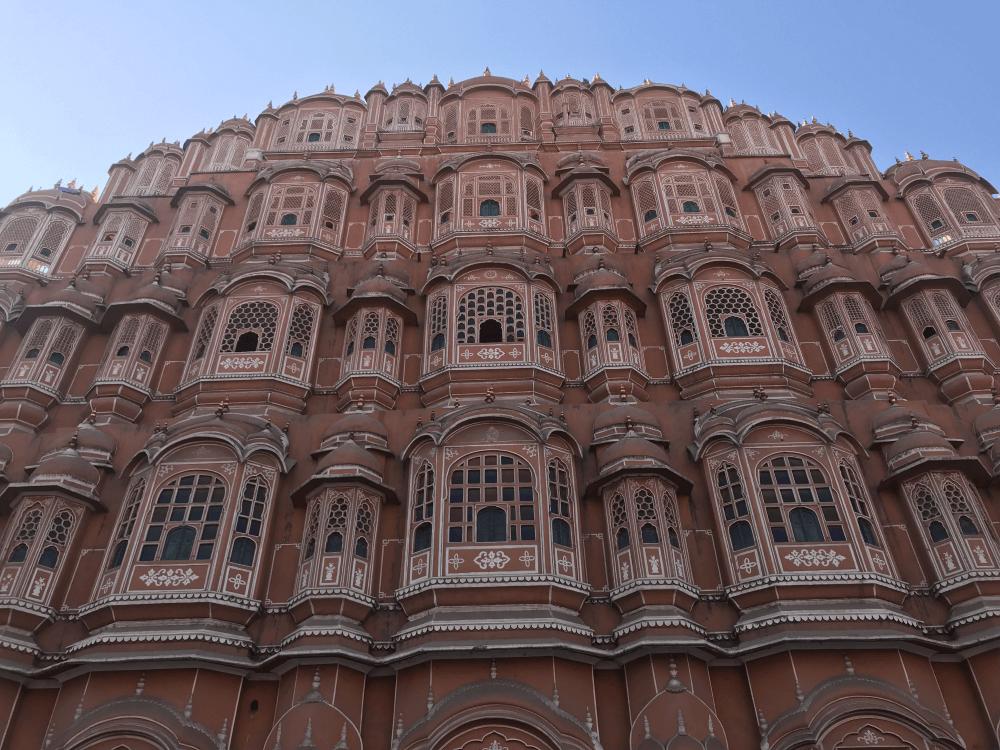 インド旅行 9ジャイプール風の宮殿