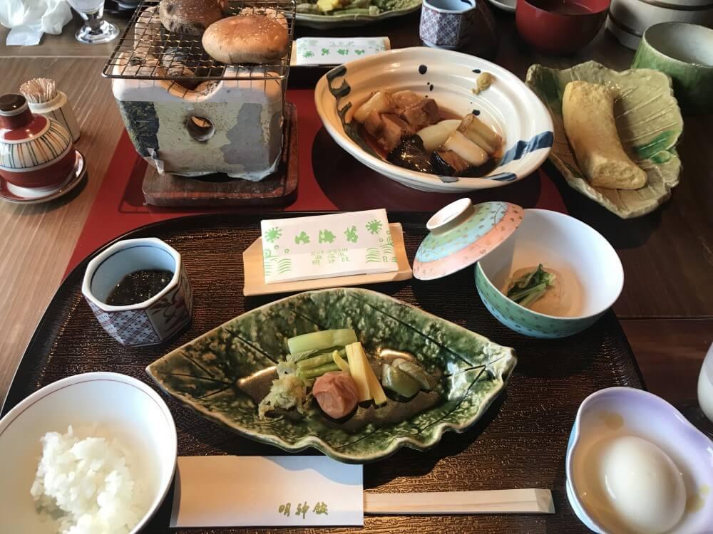 ④ 明神館 和朝食