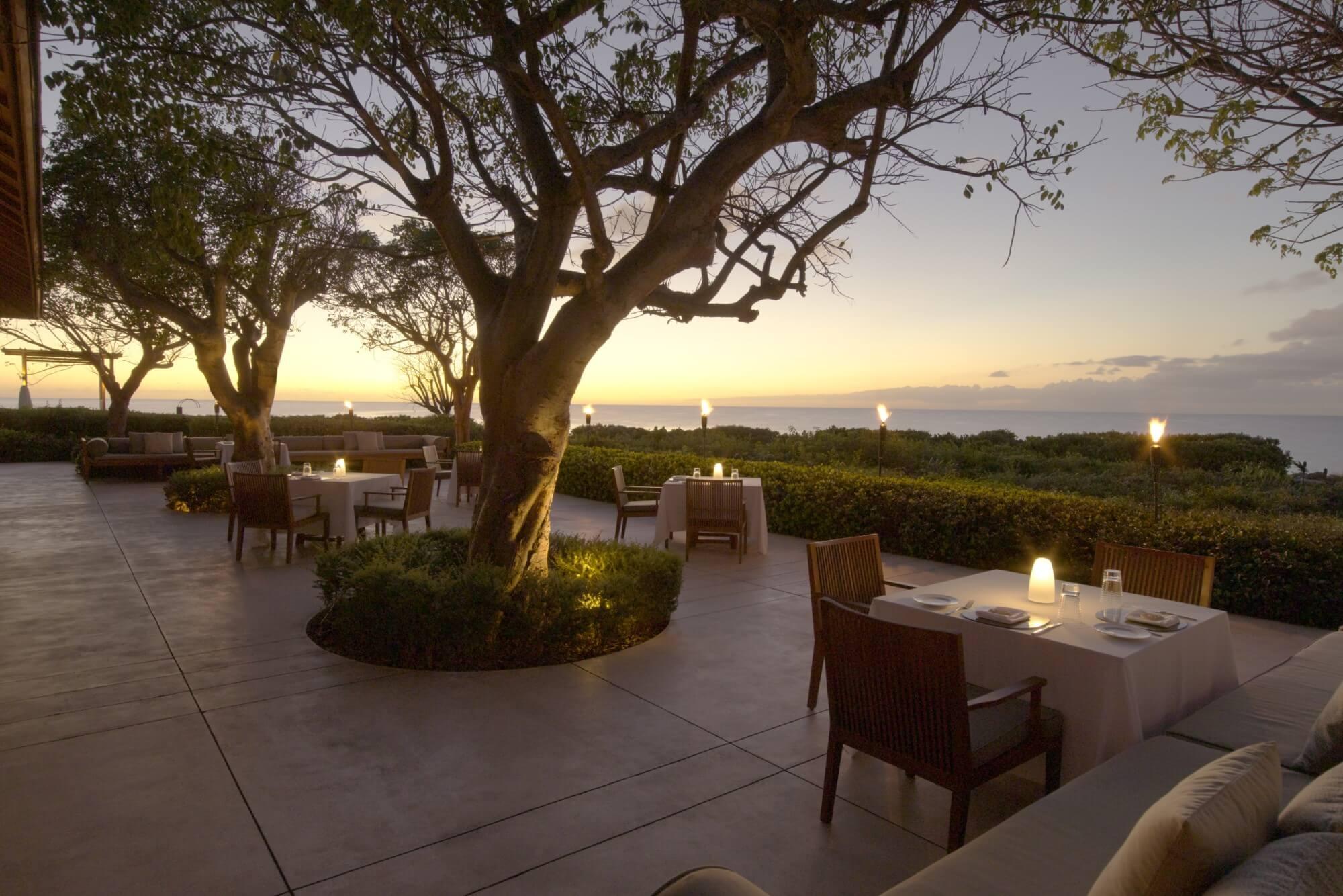 アマンヤラ Amanyara, Turks and Caicos - Restaurant Ocean Terrace