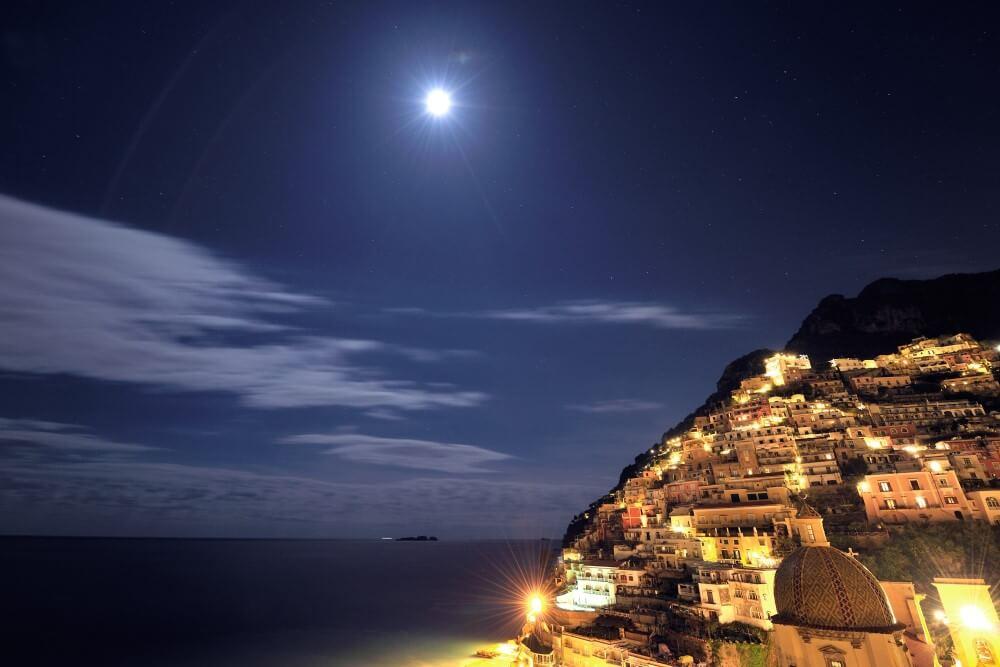 ポジターノ 夜景