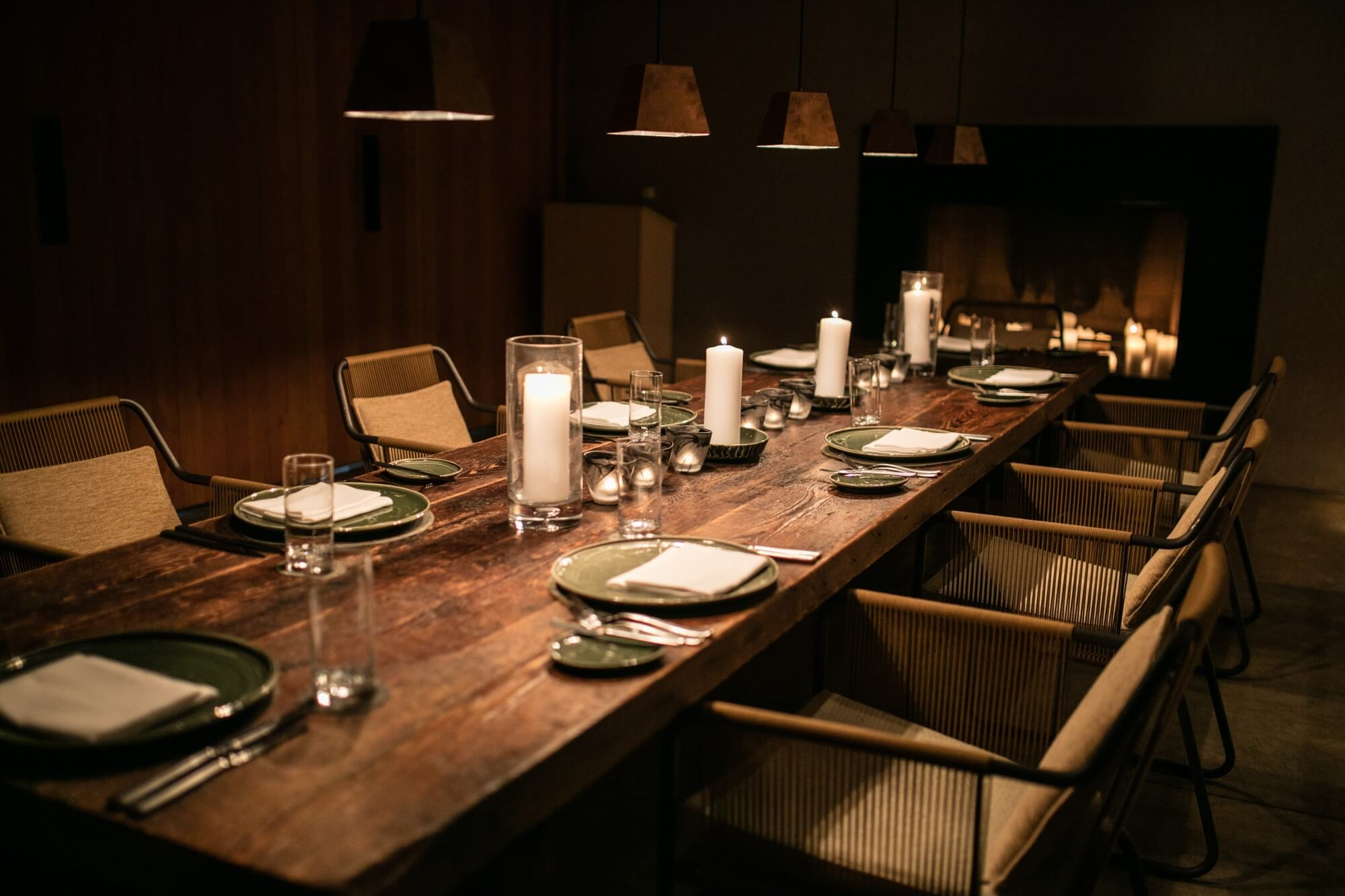 アマンギリ Amangiri, USA - Private Dining