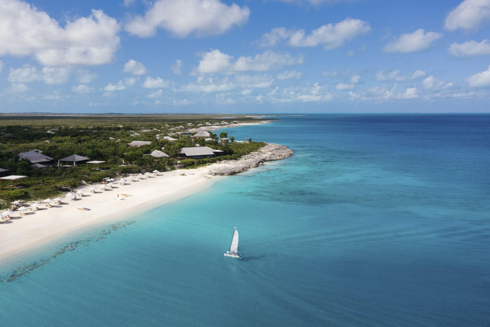 アマンヤラ Amanyara, Turks & Caicos - Beach