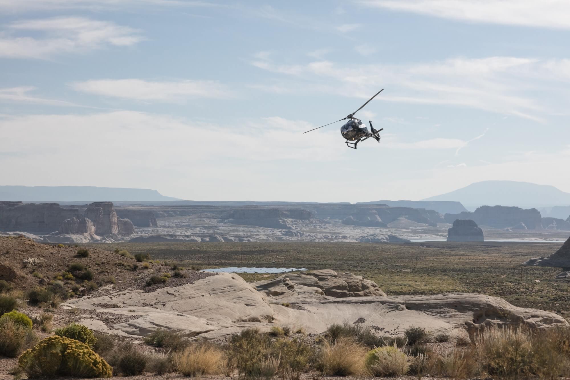アマンギリ Amangiri, USA - Helicopter
