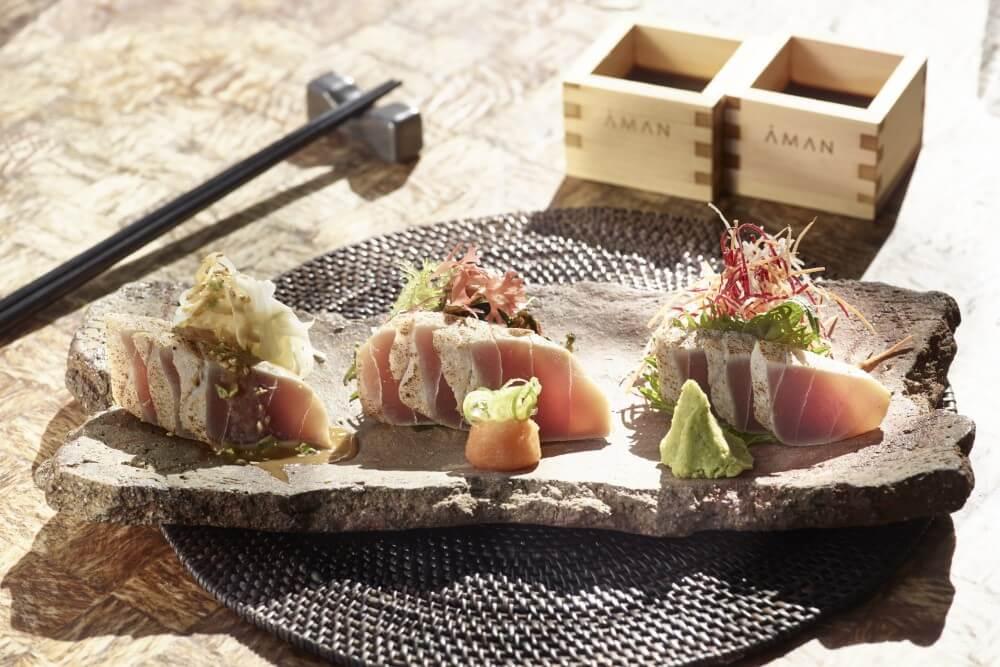 アマンゾイ Amanzoe レストラン Nama