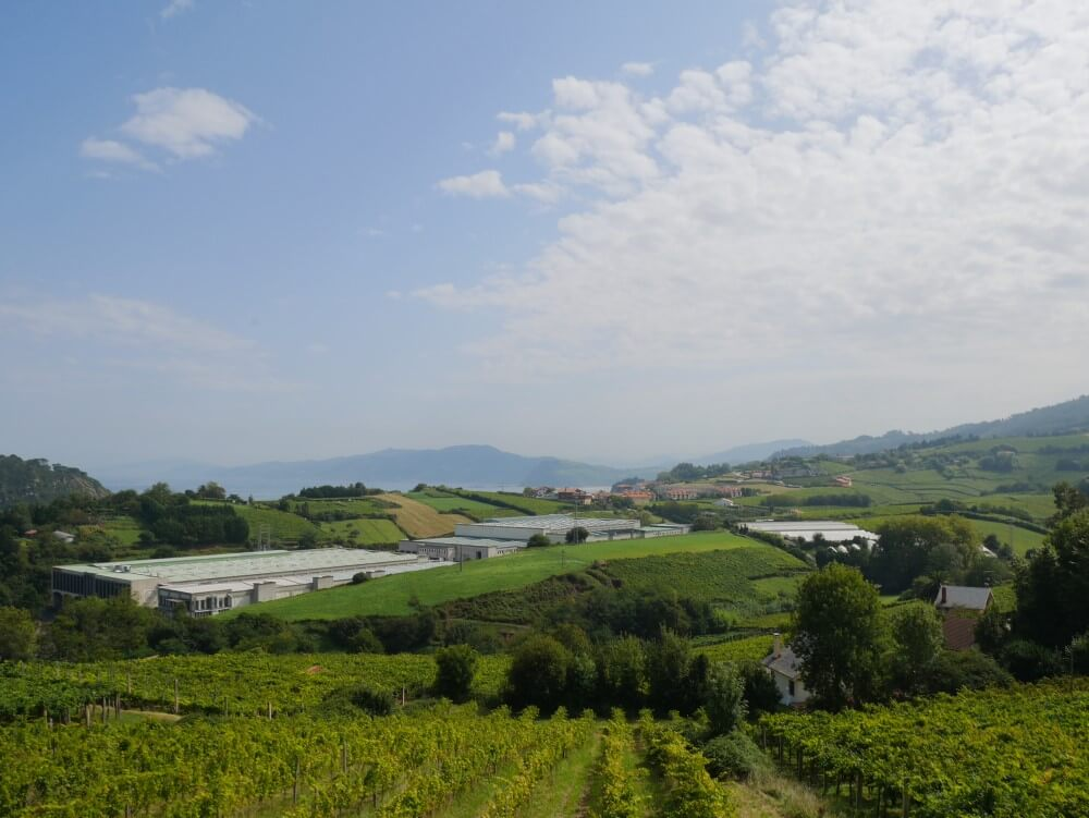 バスク 旅行記 ホテルから見た景色