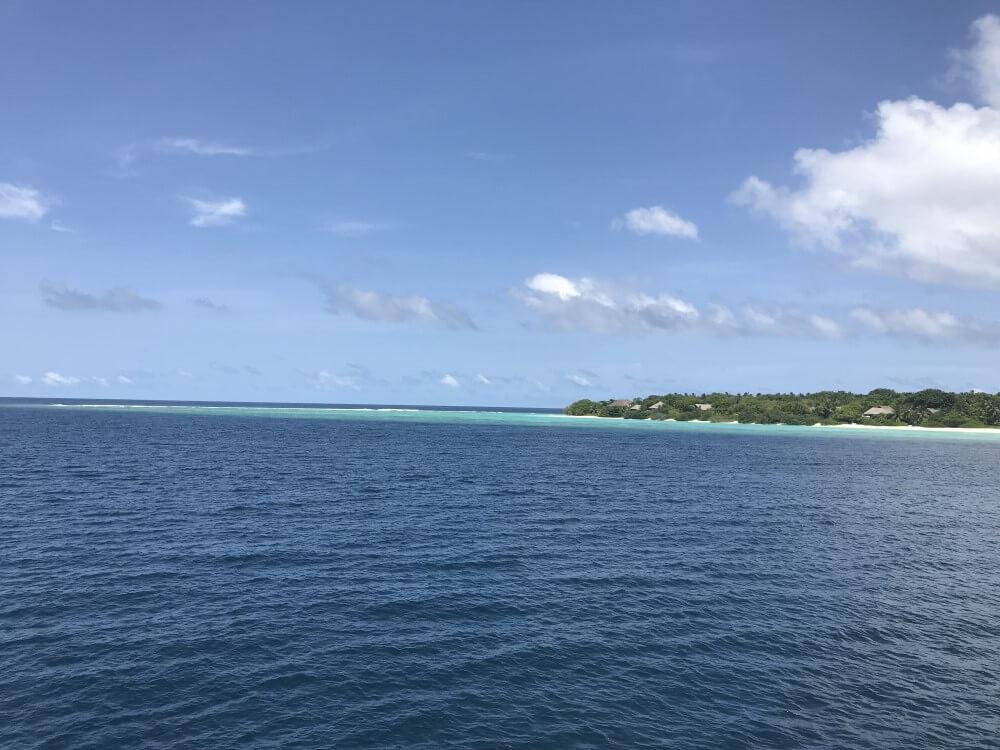 ソネバインアクア 船上からの眺め