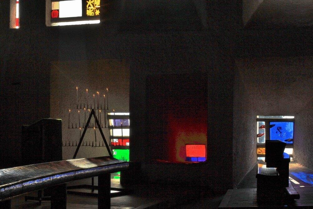 ロンシャン礼拝堂 ©laporterie/AONDH