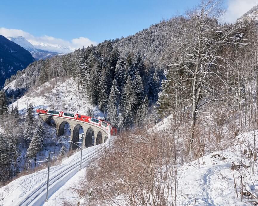 氷河特急 ラントヴァッサー橋