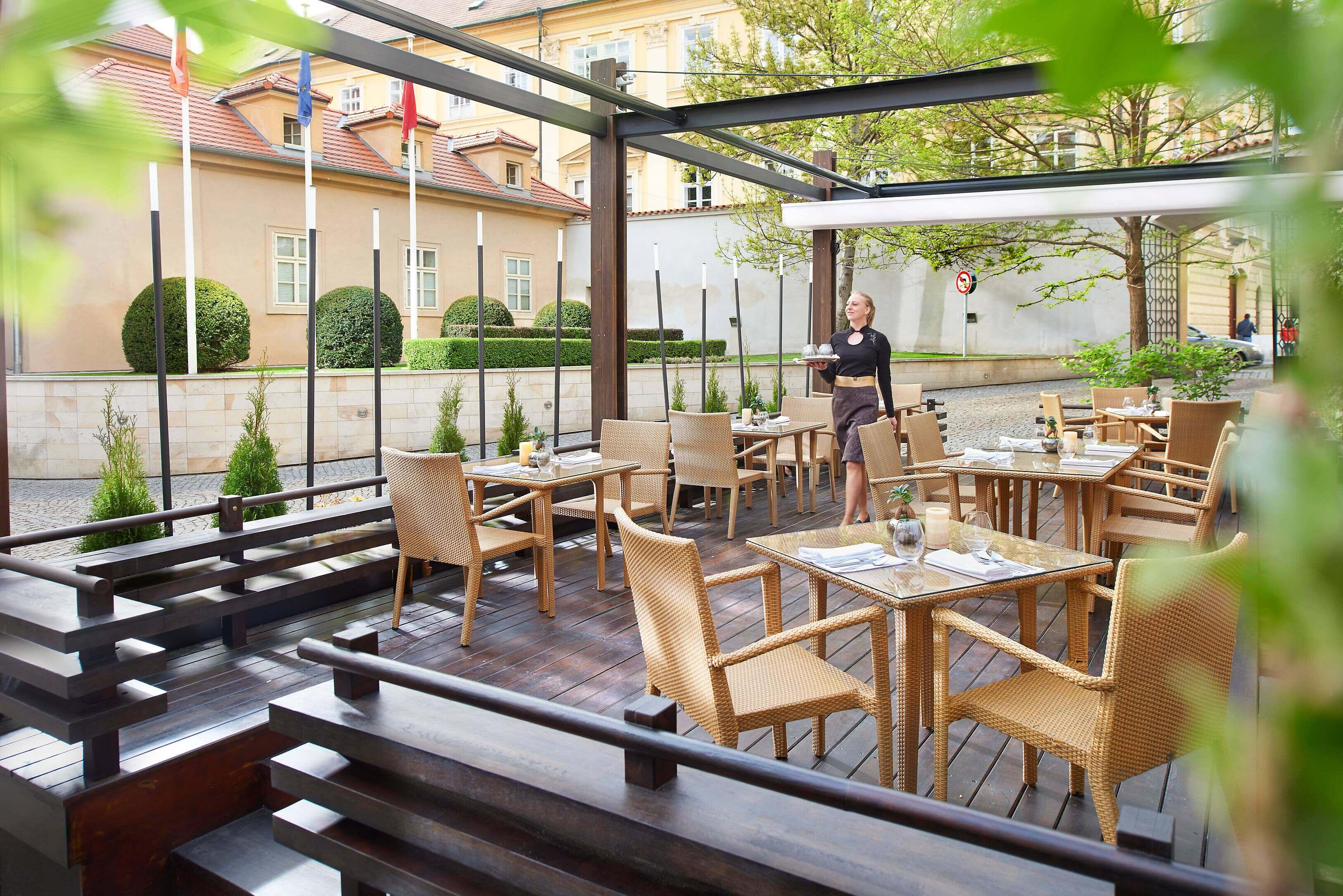 マンダリン オリエンタル プラハ レストラン