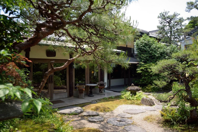 倉敷 旅館くらしき 中庭