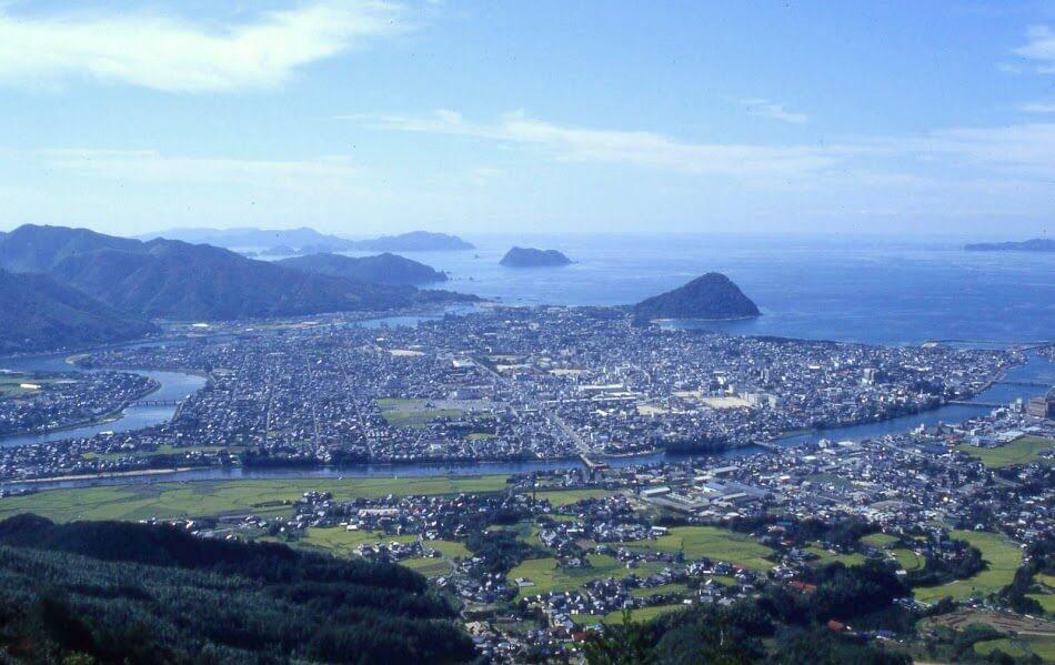 萩市 全景