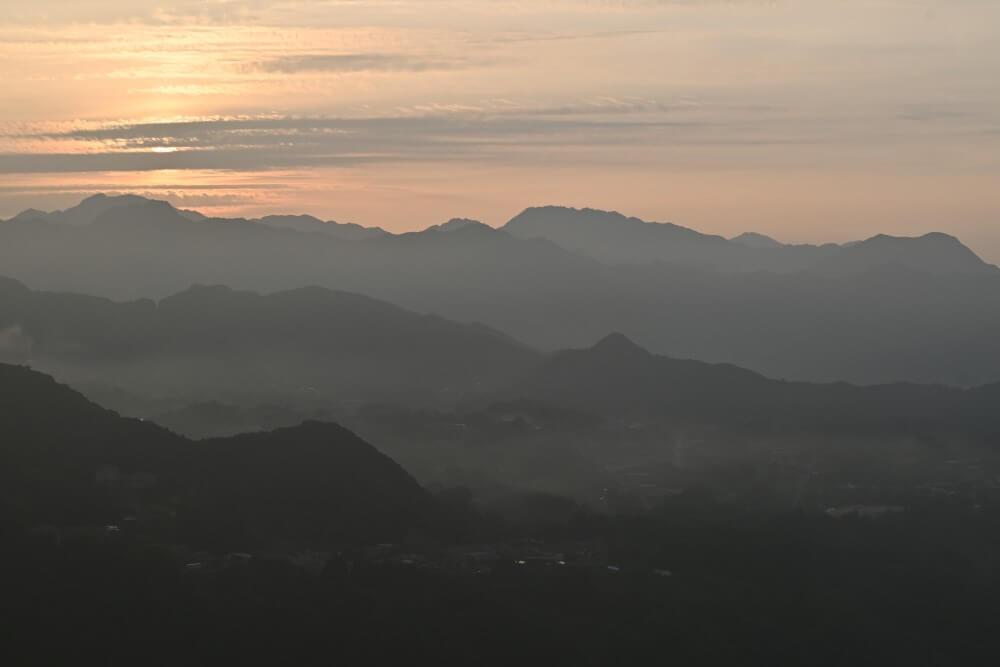 高千穂 国見ケ丘からの朝日