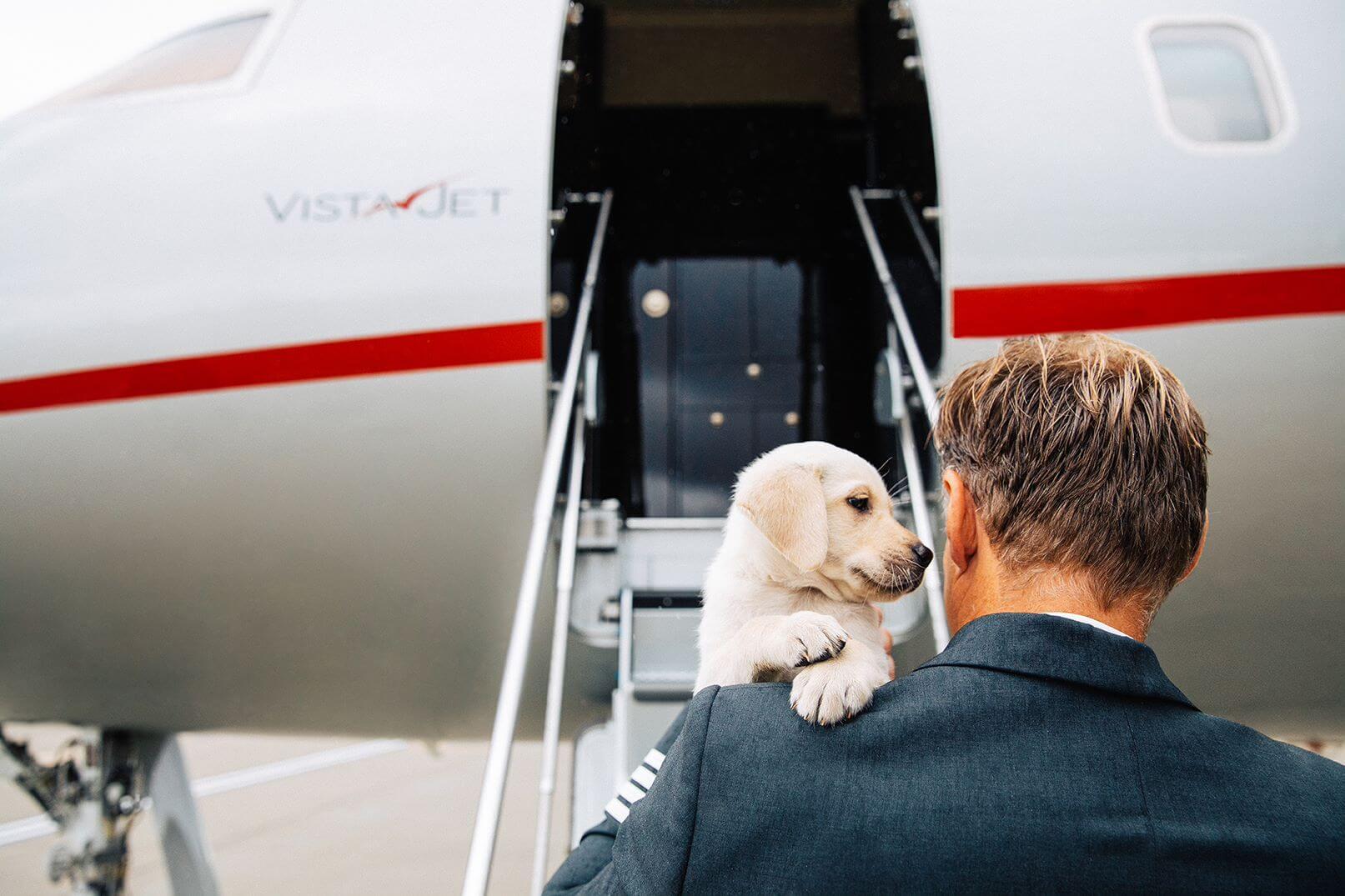 Vista Jet 大切なご家族とご一緒に