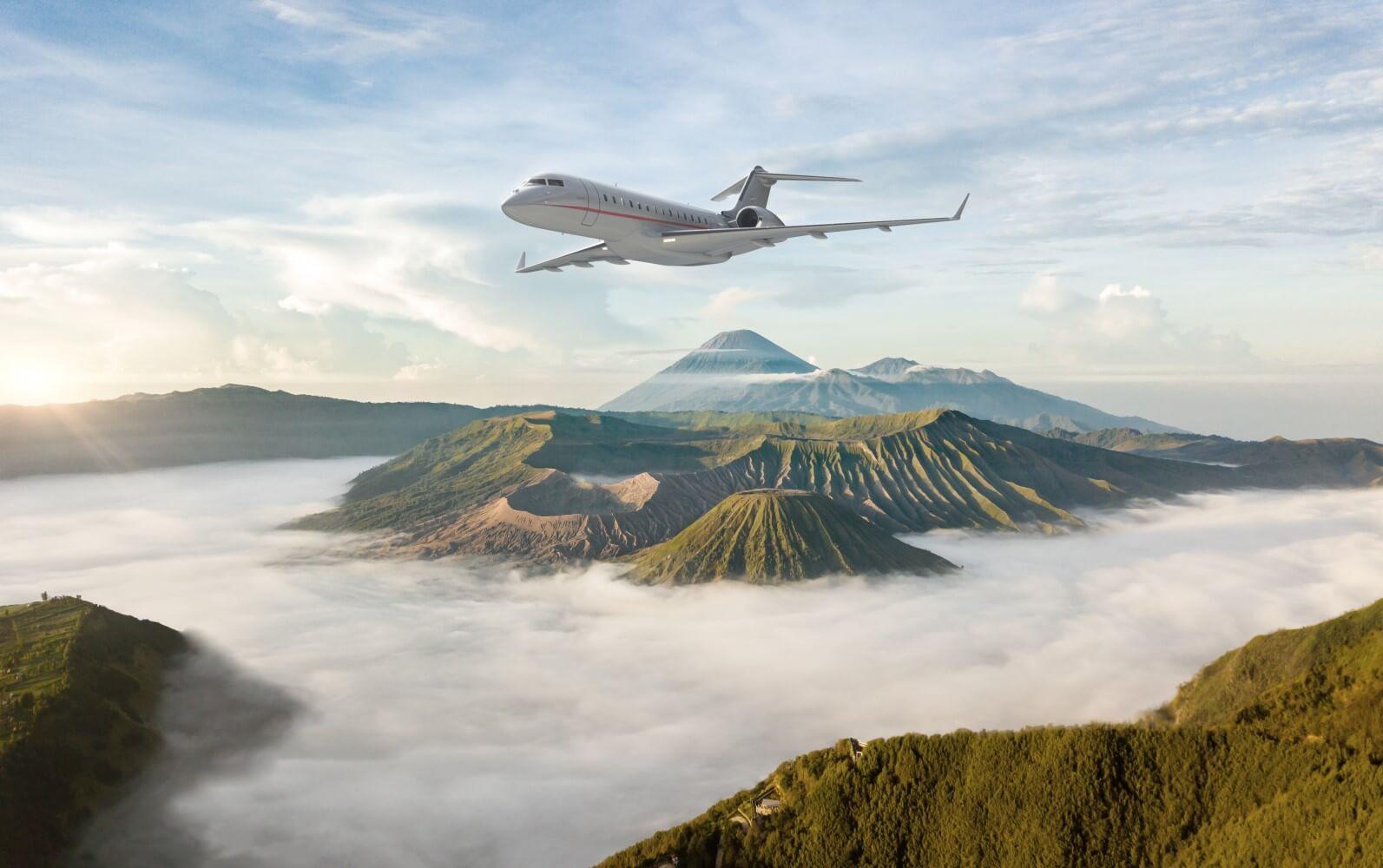 Vista Jet フライトイメージ