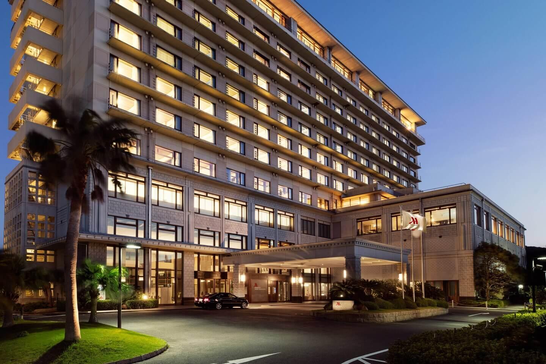 南紀白浜マリオットホテル エントランス
