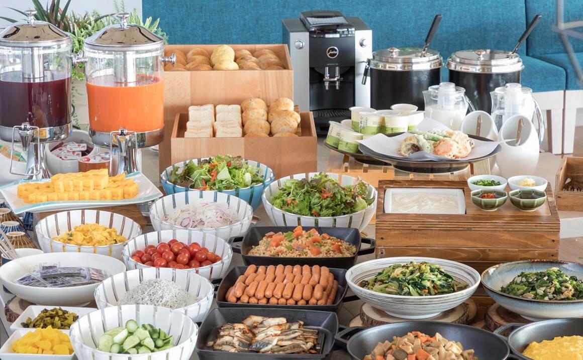ソレスト高千穂ホテル 朝食イメージ