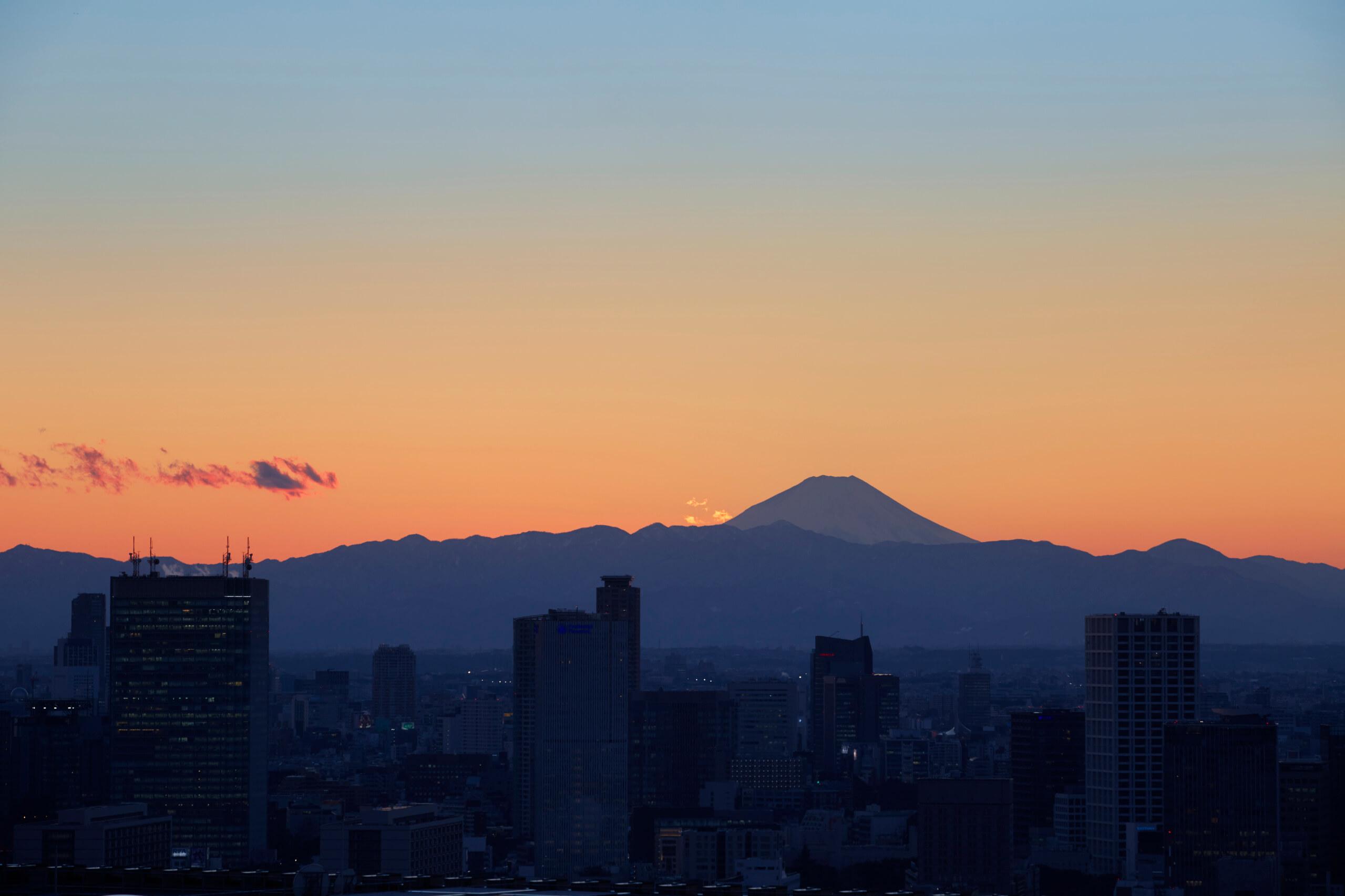 アマン東京 レストランからの眺め
