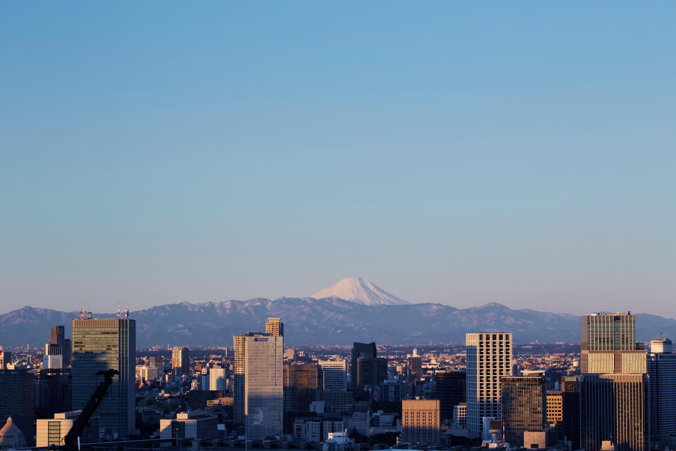 アマン東京 ホテルからの眺め