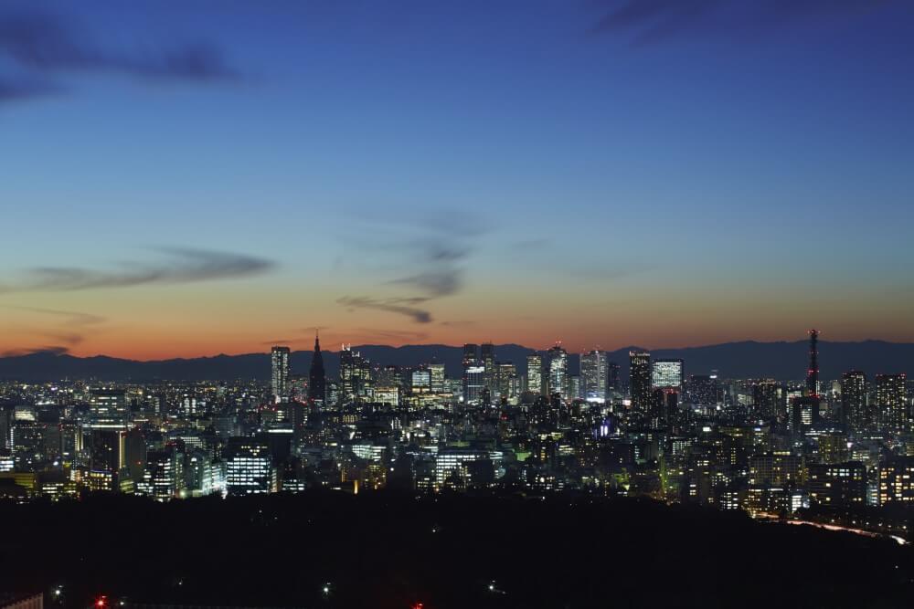 アマン東京 サンセットの眺め