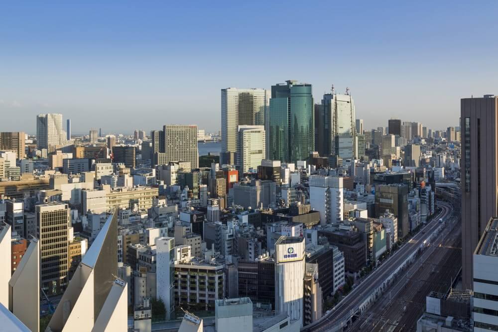 ペニンシュラ東京  日比谷・汐留の眺め