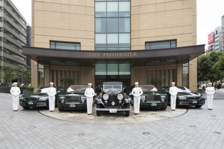 ペニンシュラ東京 ロールスロイス&BMW