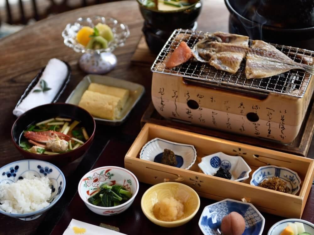 倉敷 旅館くらしき 朝食イメージ