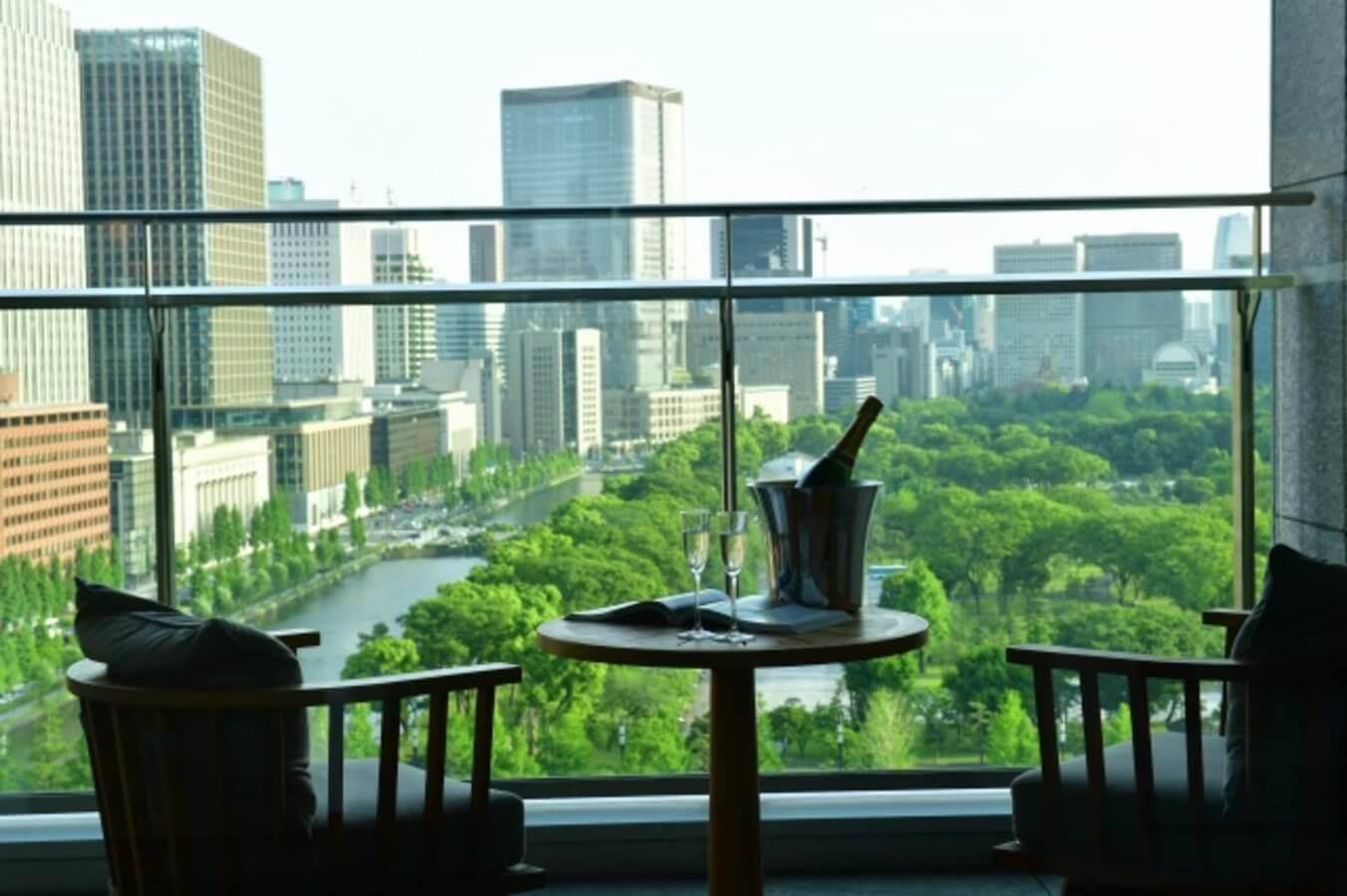 パレスホテル東京 バルコニーイメージ