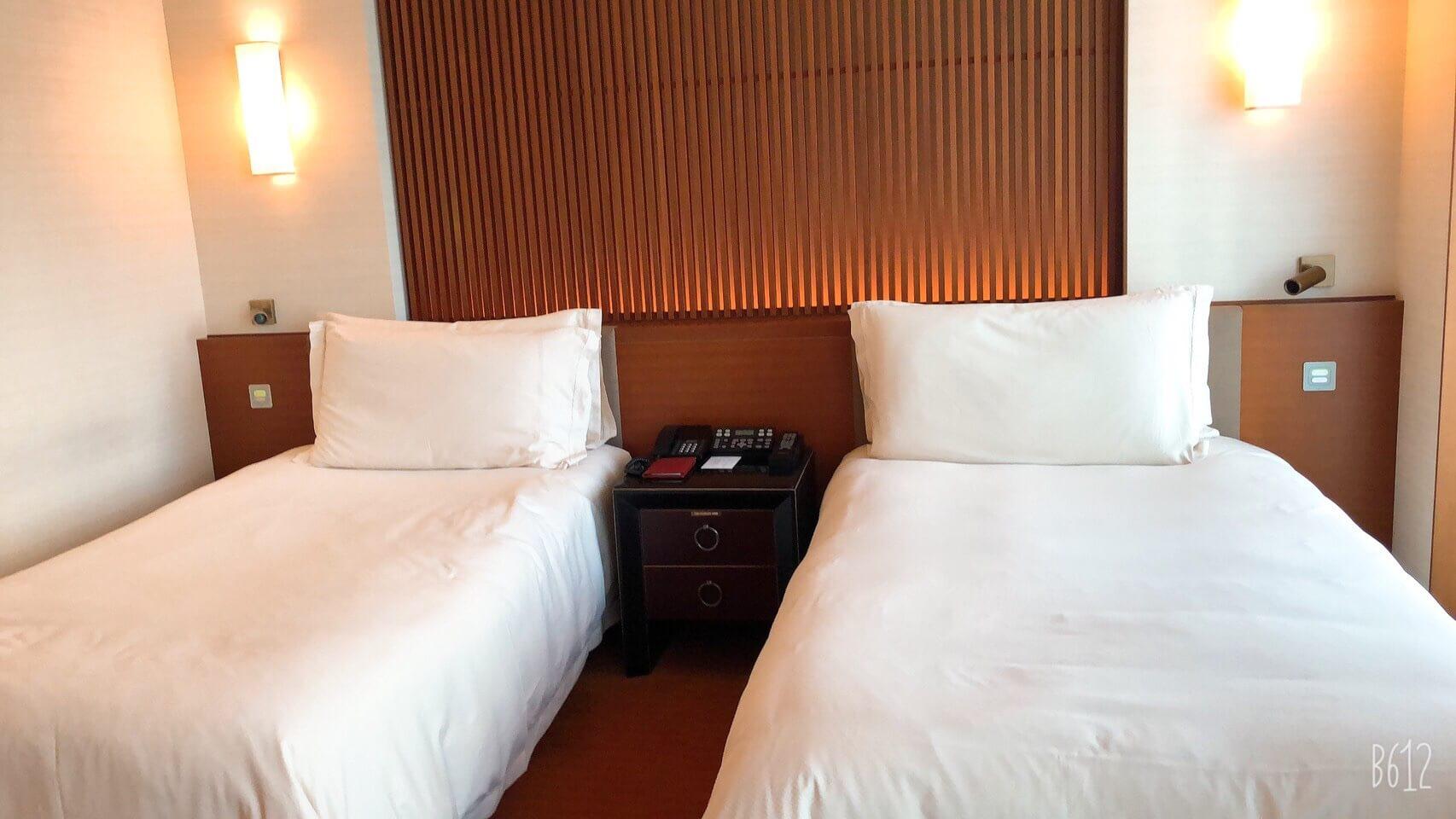 ペニンシュラ宿泊体験記 1ベッドルーム