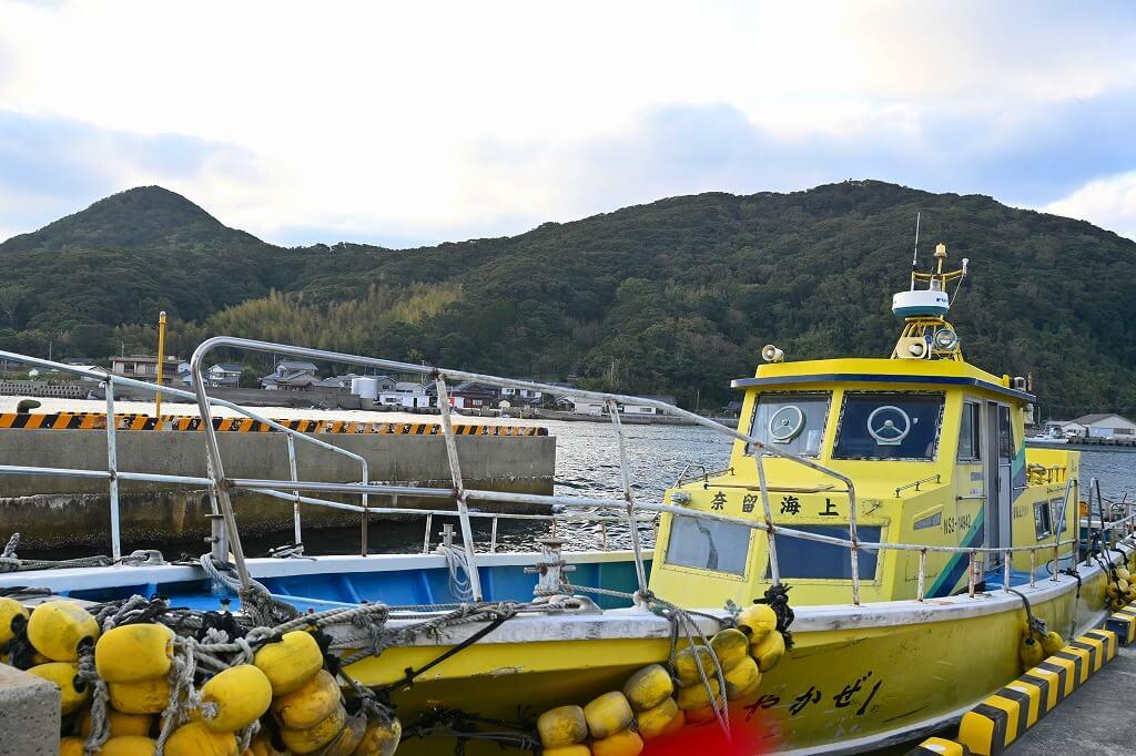 下五島 キリシタン物語 海上タクシー
