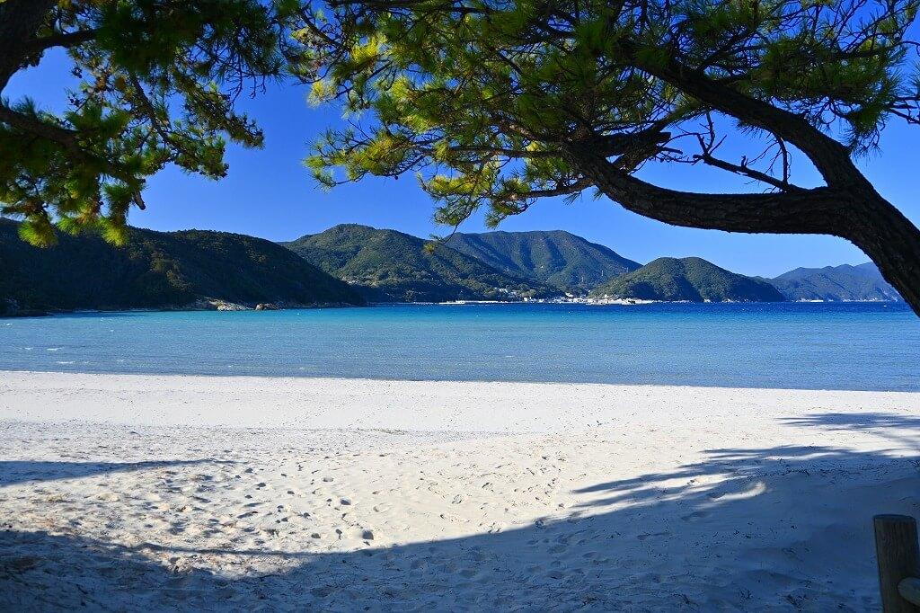 上五島 蛤浜海水浴場