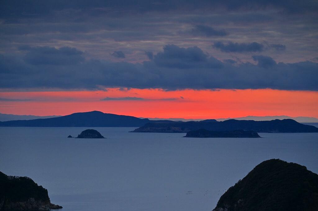 上五島 マルゲリータホテル 朝の景色