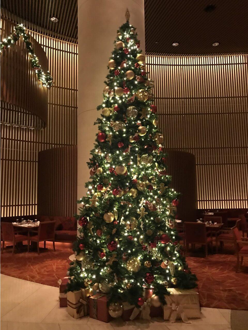 ペニンシュラ宿泊体験記 14クリスマス2