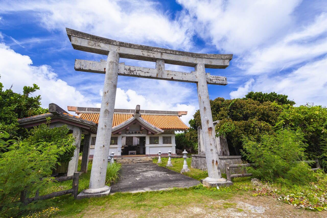 宮古島 大主神社(大主御嶽)
