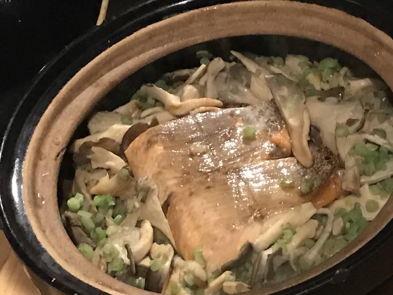 NIPPONIA 小菅 食事(土鍋)